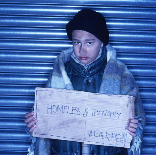 Image result for hunger and homelessness kids